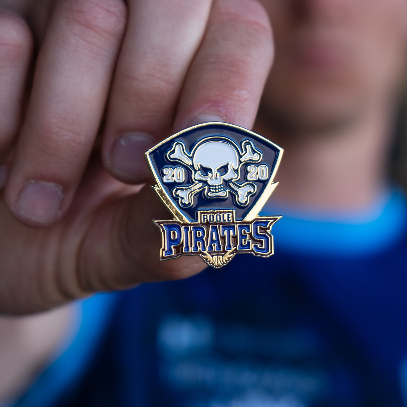 NEW Poole Pirates 2020 Pin (Gold)