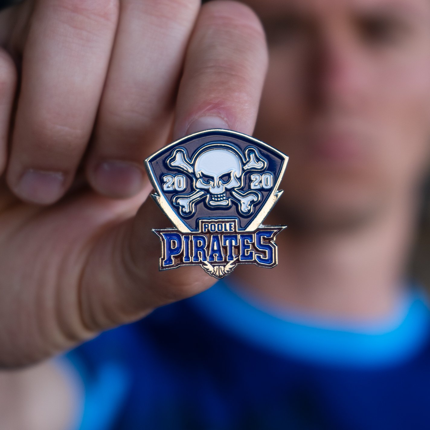 NEW Poole Pirates 2020 Pin (Silver)