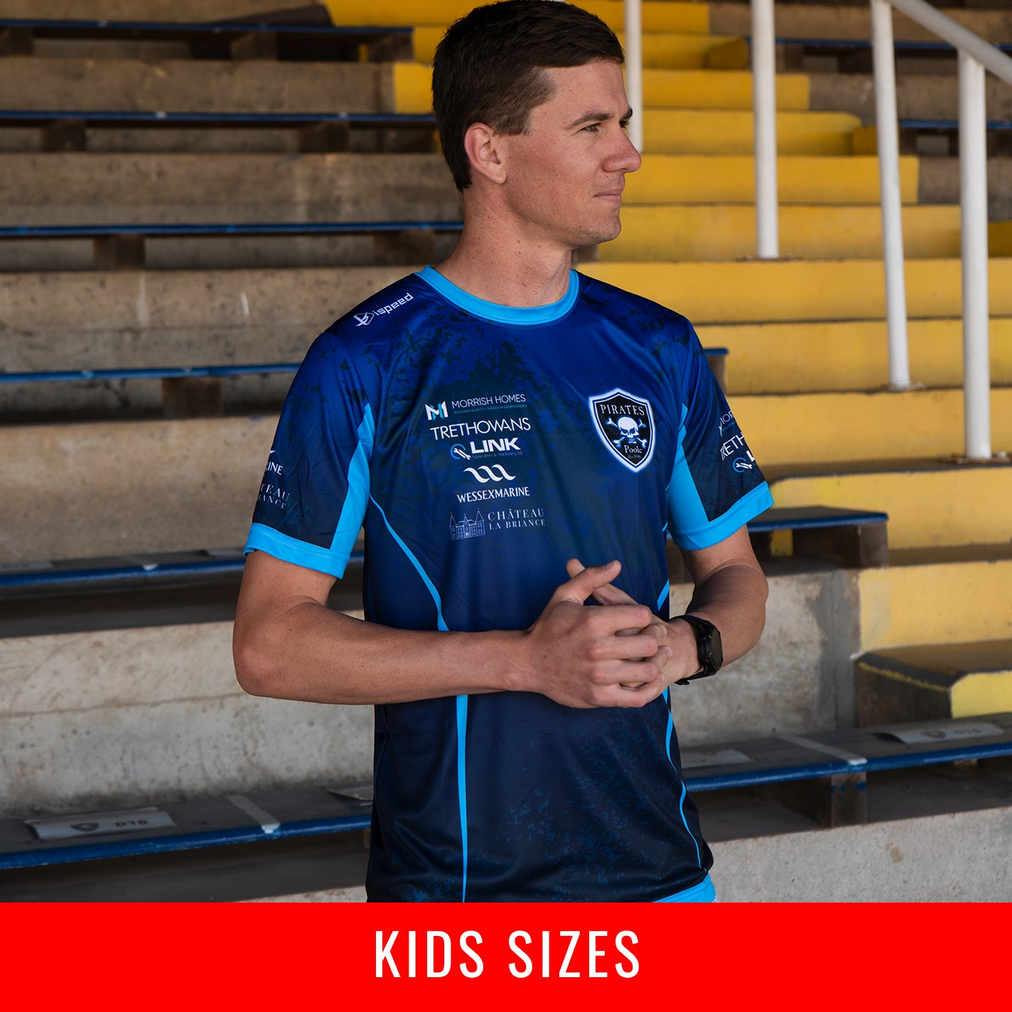 KIDS Poole Pirates Team Shirt