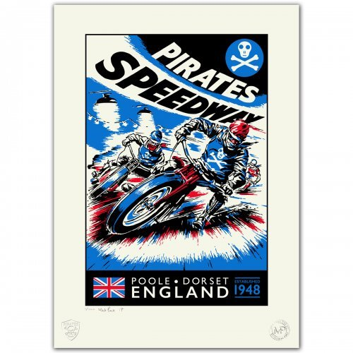 Pirates 'Need For Speed' Limited Edition Poster – 1/100
