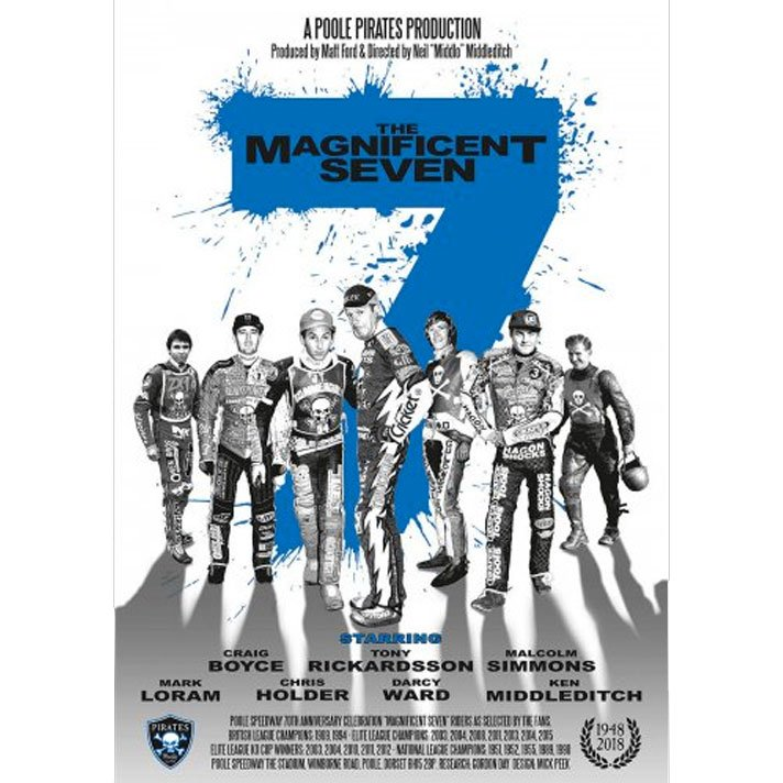 Poole Pirates 'Magnificent 7' Poster