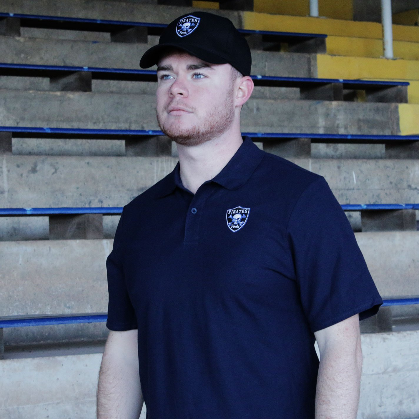 POOLE PIRATES POLO Navy Blue